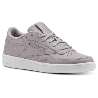 Club C 85 Space Dye-Whisper Grey / Spirit White CN3273