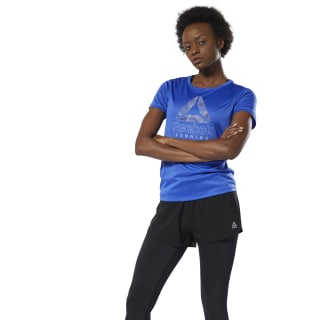 Remera Re Delta Graphic Tee crushed cobalt DU4240