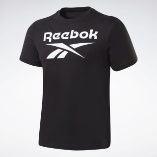 T-shirt Graphic Series Reebok Stacked Black FP9150