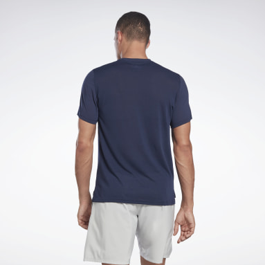 Men Cycling Blue Workout Ready Supremium Graphic Tee