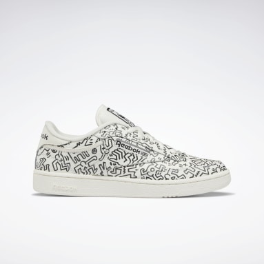 Classics White Keith Haring Club C Shoes