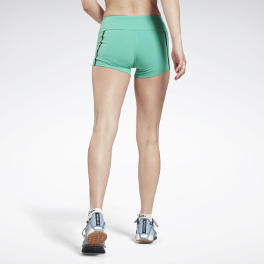 Pantalón corto United By Fitness Chase Bootie Turquesa Mujer Deporte