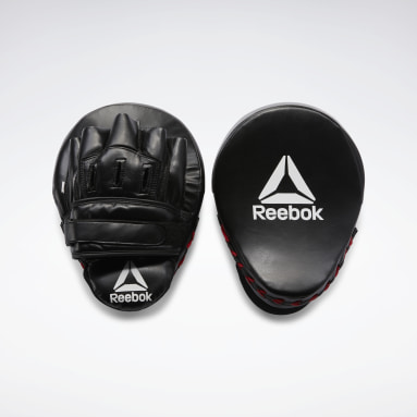 Training Red Retail Hook and Jab Pads - Red / Black