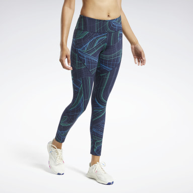Women Fitness & Training Blue Lux Perform Technical Twist Tights