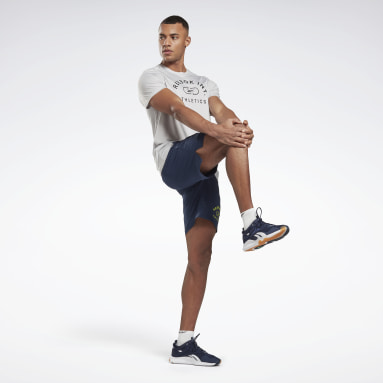 T-shirt Workout Ready Graphic Grigio Uomo HIIT