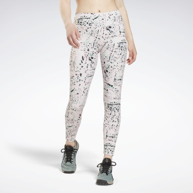 Leggings Workout Ready Printed Rosa Donna Dance