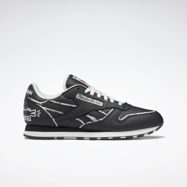 Keith Haring Classic Leather Noir Classics