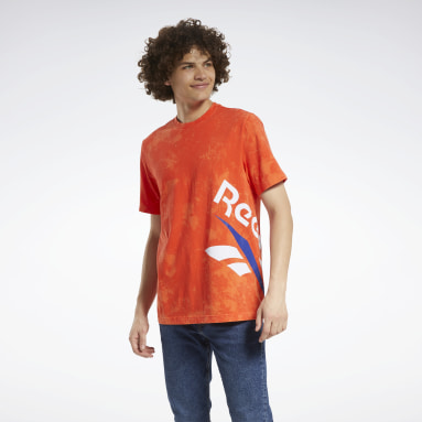 T-shirt Classics Tie-Dyed Vintage Rosso Classics