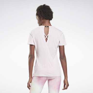 Women Cycling Pink Activchill Athletic T-Shirt