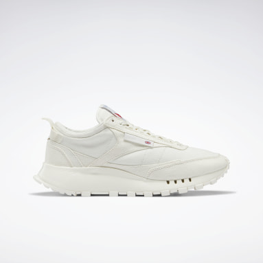 Classics White Classic Leather Legacy Grow Shoes