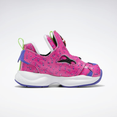 Boys Classics Pink Ghostbusters Versa Pump Fury Shoes - Toddler