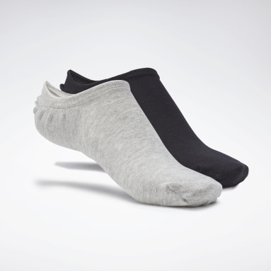 Calze Active Foundation Invisible (3 paia) Bianco Fitness & Training