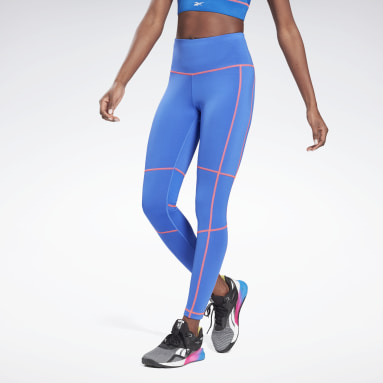 Dames Fitness & Training Blauw Workout Ready High-Rise Detail Legging
