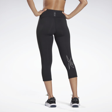 Mallas LES MILLS® High-Rise 3/4 Negro Mujer Deporte