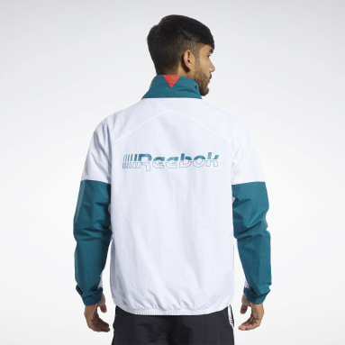 Chamarra Meet You There Turquesa Hombre Running