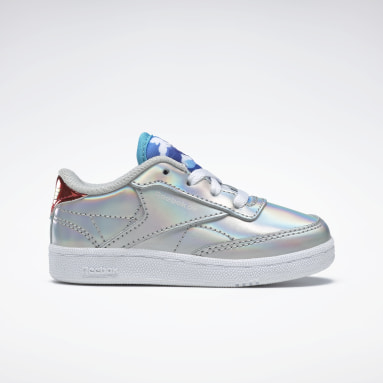 Girls Classics Silver Club C 85 Shoes - Toddler