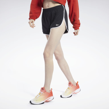 Shorts Meet You There Negro Mujer Running