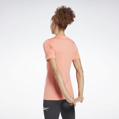 T-shirt Workout Ready Supremium Rosso Donna Hiking