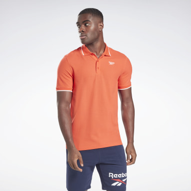 Polo Training Essentials Rouge Hommes Fitness & Training