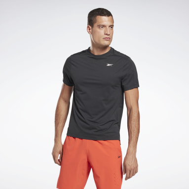 Camiseta United By Fitness Perforated Negro Hombre Deporte