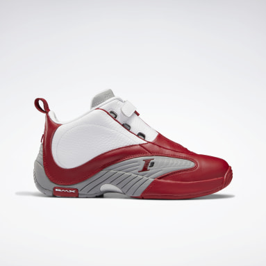 Men Classics Red Answer IV Men's Basketball Shoes