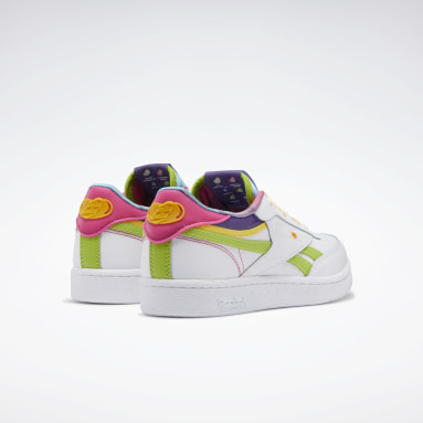 Kids Classics White Jelly Belly Club C Revenge Shoes