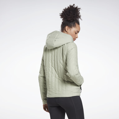 Chamarra acolchada Core Gris Mujer Outdoor