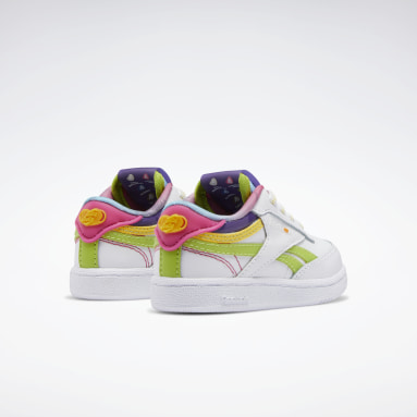 Kids Classics White Jelly Belly Club C Revenge Shoes - Toddler