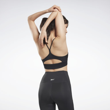Top deportivo Workout Ready Negro Mujer Fitness & Training