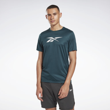 Men Fitness & Training Green Workout Ready Graphic T-Shirt