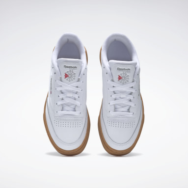 Women Classics White Club C Stacked Shoes