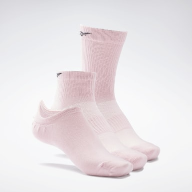 Chaussettes Active Foundation - 3 paires Rose Fitness & Training