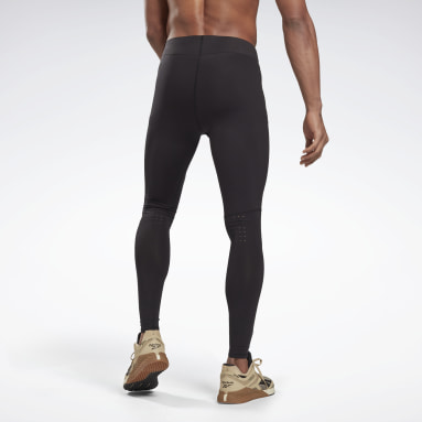 Men Fitness & Training Black United By Fitness Compression Tights