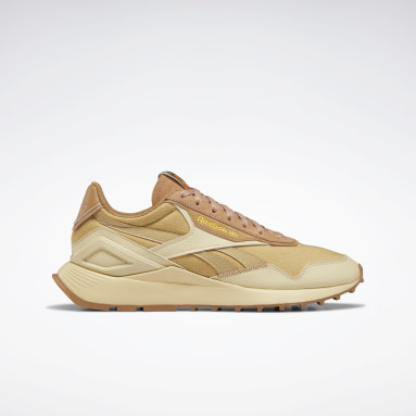 Classics Beige National Geographic Classic Leather Legacy AZ Shoes