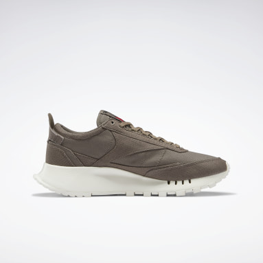 Classics Grey Classic Leather Legacy Grow Shoes