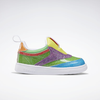 Kids Classics Green Candy Land Club C Slip-on III Shoes - Toddler