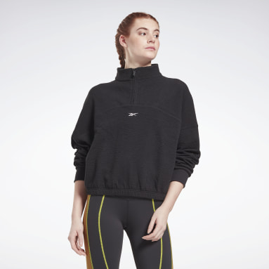 Jersey Fashion Cover-Up Negro Mujer Deporte