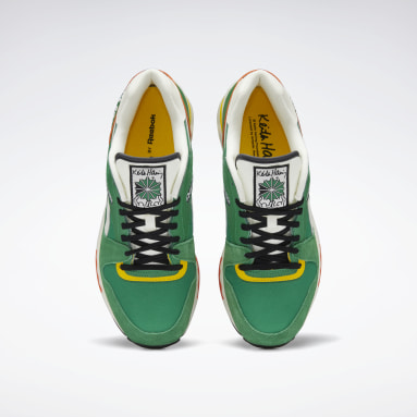 Classics Green Keith Haring GL 6000 Shoes