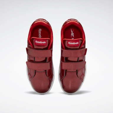 Girls Classics Red Reebok Royal Complete CLN 2 Shoes