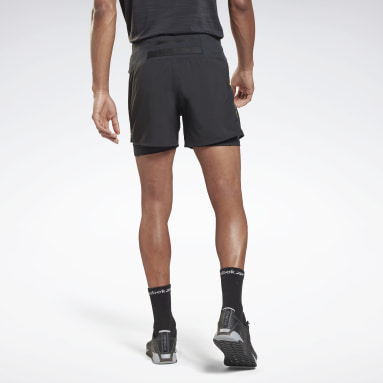 Men Yoga Black Les Mills® Epic Two-in-One Shorts