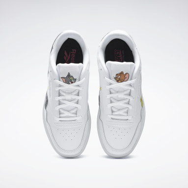 Women Classics White Tom and Jerry  Royal Techque T Shoes