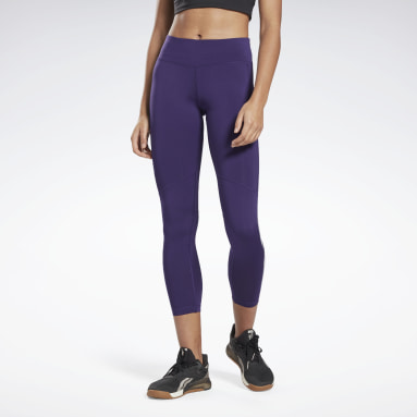 Legginsy Workout Ready Vector Fioletowy