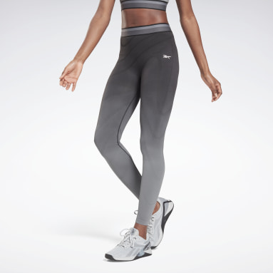 Leggings United By Fitness Seamless High Rise Nero Donna Fitness & Training