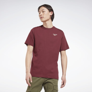 QQR A SMALL TEE Rouge Hommes Classics