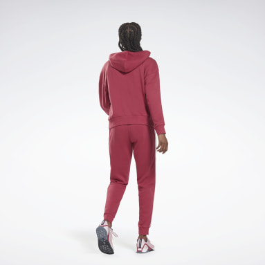 Completo Training Essentials Piping Hooded Rosa Donna Lifestyle