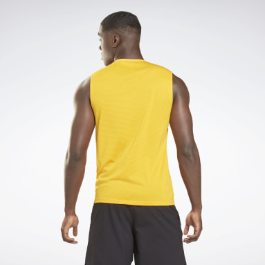 T-shirt sans manches Workout Ready Activchill Or Hommes Fitness & Training