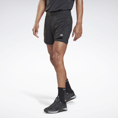 Short Les Mills® Epic Two-in-One Nero Uomo Ciclismo