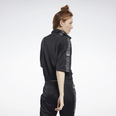 Women Fitness & Training Black Meet You There Jacket