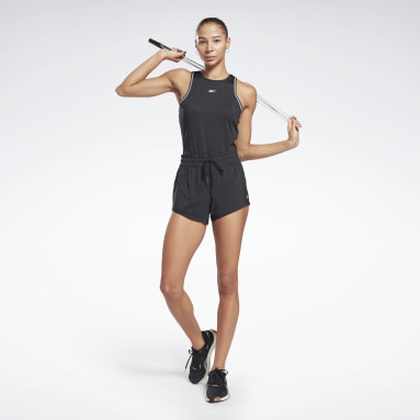 Short Workout Ready Nero Donna HIIT