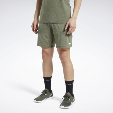 Men HIIT Green United By Fitness 8-Inch MyoKnit Seamless Shorts